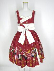 【中古】Metamorphose / こい恋花かるたタックジャンパースカート メタモルフォーゼタンドゥフィーユ B24967_1908