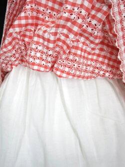 【中古】JaneMarple/フラワー刺繍ギンガムチェックワンピースジェーンマープルB25173_1908