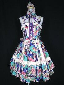 Metamorphose / Marie ジャンパースカート(ヘッドドレス付) メタモルフォーゼタンドゥフィーユ 和柄 B25345_1908