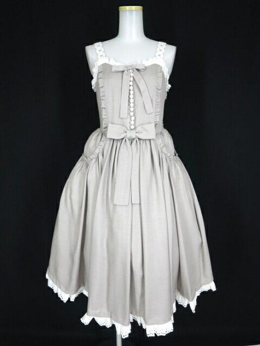 【中古】Angelic Pretty / Nostalgic Gardenジャンパースカート アンジェリックプリティ ノスタルジックガーデン B26003_1908