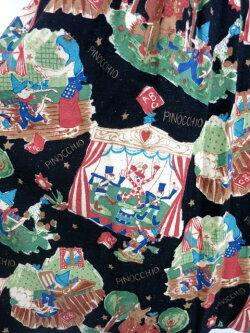 【中古】JaneMarple/ピノキオ柄ロングスカートジェーンマープルB24728_1910