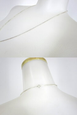 【中古】Q-pot./エラベルシアワセネックレスチェーンSV925(58cm)キューポットB26797_1911
