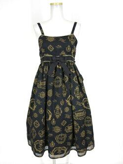 ALICEandthePIRATES/Vintagelabelstamp柄ジャンパースカートIIアリスアンドザパイレーツB26898_1911