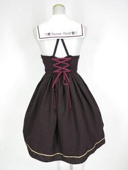 【中古】InnocentWorld/衿バラ刺繍セーラージャンパースカートイノセントワールドB26942_1911