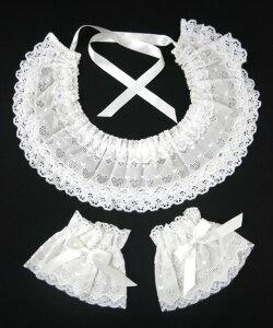 【中古】FairyWish/ホイップハートの付け衿セット(付け衿+お袖留め)フェアリーウィッシュB27369_1911