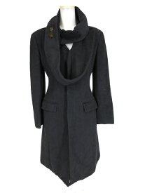 【中古】Jean Paul GAULTIER FEMME / ジャガード織りウールコート ジャンポールゴルチエフェム B27891_2009