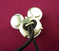 【中古】Q-pot./ミッキーマウスホワイトリュクスショコラヘアゴムキューポットB28904_2001