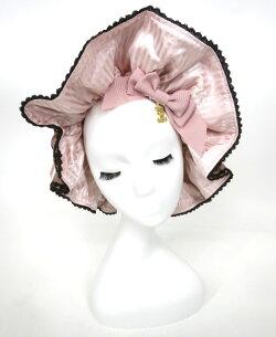 【中古】ALICEandthePIRATES/ミセス・ハロウィンアップルの奇妙な晩餐会柄メイドキャップアリスアンドザパイレーツ帽子B29782_2002