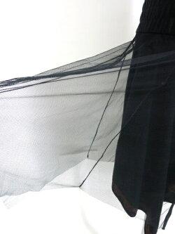 OZZONESTE/メッシュ重ね2wayニットスカートオッズオンオッズオネストOzzOnB30850_2003