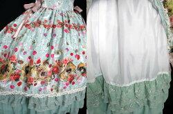 【中古】BABY,THESTARSSHINEBRIGHT/LadyVictorianRoseJewelry〜想いは薔薇の花びらの上に〜柄ロングジャンパースカート&ヘッドドレスセットベイビーザスターズシャインブライトB30940_2003