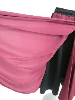 【中古】QutieFrash/オーバースカート付きワイドパンツキューティーフラッシュB31014_2003