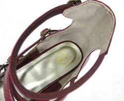 BABY,THESTARSSHINEBRIGHT/BABYヴィクトワールシューズベイビーザスターズシャインブライトLサイズ赤エンジ靴パンプスB33207_2006