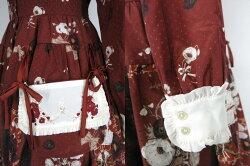 CherryBomb/ポピーロールシャッハ・テスト前開きワンピース&カチューシャセットチェリーボムB33210_2006