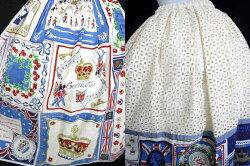 【中古】JaneMarple/Here'stoTheQueenミディスカートジェーンマープルB33212_2006