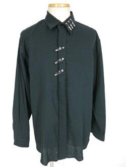 【中古】MILKBOY/PINSシャツミルクボーイガーゼシャツB33214_2006