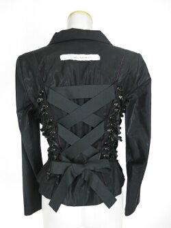 【中古】aliceauaa/サイド編み上げジャケットアリスアウアアB33442_2006