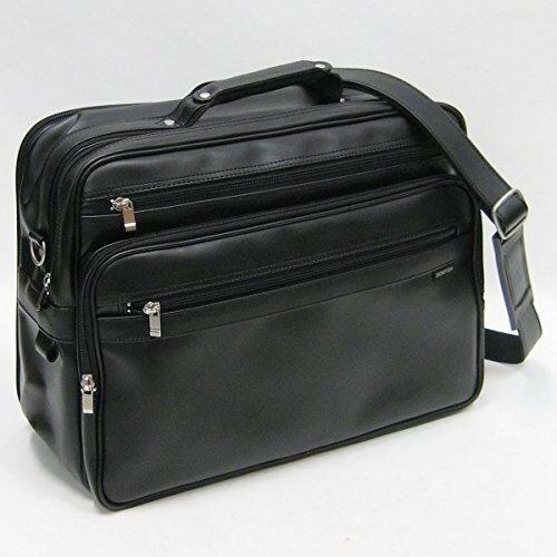 BROMPTON ブロンプトン 平野鞄 豊岡鞄 合皮 ショルダーバッグ横型 40cm B4サイズ対応 Y付 16274-01クロ ギフト斜めがけ ブランド メンズ レディス 豊岡 かばん 豊岡製鞄 ブランド 日本製