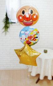 誕生日 バルーン 1歳 2歳 アンパンマン●バルーン