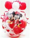 結婚式 バルーン電報 ミッキー ディズニー バルーン 電報 誕生日 ぬいぐるみ おしゃれ LOVE LOVE Mickey & Minnie