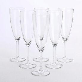 IKEA イケア SVALKA シャンパングラス 6ピース クリアガラス ディナー スヴァルカ 食卓 パーティ グラス 輸入