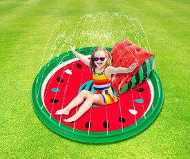 【送料無料】【プール】【WP00719】シャワープレイングプール 120cm スイカ