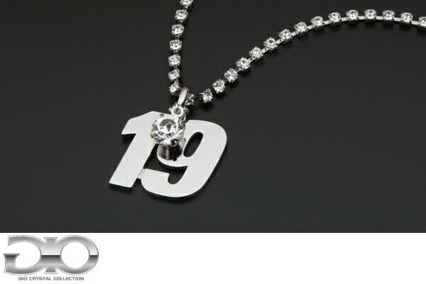 【数量限定超特価!!】SUPER GT × GIO [GT300]Car No.19 【RACING PROJECT BANDOH】スーパーGTカーナンバーネックレス