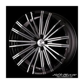 SilkBlaze VORZA アルミホイール[ 21inch×9.5+38 5H/114.3 φ60 ]ピアノブラック/ダイヤモンドカット20/30 アル/ヴェル 専用