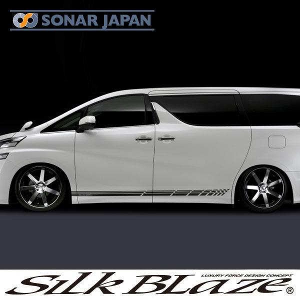 SilkBlaze シルクブレイズGLANZEN グレンツェン【30系アルファード/ヴェルファイア】サイドデカール