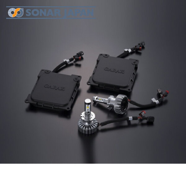 GARAX ギャラクスLEDボルトオンコンバージョンキットCOVRAトヨタ D4 Aタイプ[6000K]