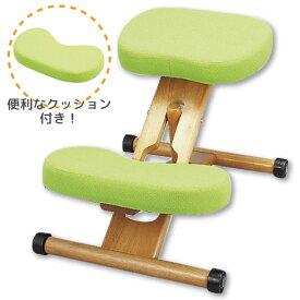 【北海道・沖縄・離島は別途追加送料かかかりますので、ご注意ください】姿勢がよくなる椅子-ライム- 学習チェア 学習椅子 プロポーションチェア キッズチェア 補助クッション付き オフィスチェア パソコンチェア CH-889CK 学習椅子 子供部屋 キッズチェア