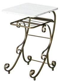Celestia(セレスティア)ナイトテーブル NT-350《テーブル カフェ カフェテーブル サブテーブル ベッドテーブル 姫系 シンデレラ アンティーク 送料無料 送料込》