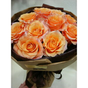 珍しい 豪華!カルピディーム10本のローズブーケ 贈答 ギフト 花束 プレゼント バレインタイン