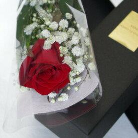 ブラックボックスレッドローズ 赤バラ 送料無料 花束 ギフト プロポーズ 誕生日 記念日 贈り物 プレゼント 彼女 奥さん バレンタイン