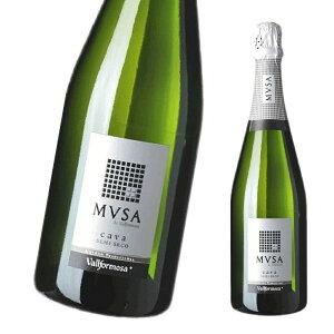 ヴァルフォルモッサ カヴァ ムッサ セミセコ 750ml 1本 白 スパークリング やや甘口 送料別 酒 贈答 ギフト