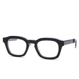 トムブラウン THOM BROWNE アイウェア メガネ 眼鏡 ウェリントン ブラック TBX412/48-01A 【楽ギフ_包装】【送料無料】