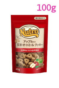 ニュートロ アップル入り 玄米・オートミール クッキー 100g(NCT107)