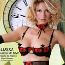 ★フランス製(ルクサ)Luxxa 高級オープンブラ[ベルソー・ブラ 1/2CUP]Verseau bra Half Cup