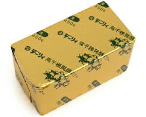 プロご用達!豊かな香りとコクが特徴高千穂発酵バター『無塩』 450g(業務用)