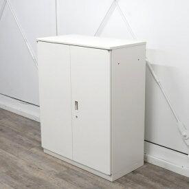 イトーキ シンラインキャビネット 両開き扉型 3段 ホワイト HTM-109HSS-W9
