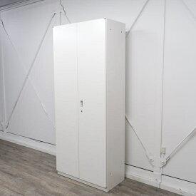 イトーキ シンラインキャビネット 両開き扉型 6段 ホワイト HTM-219HSS-W9