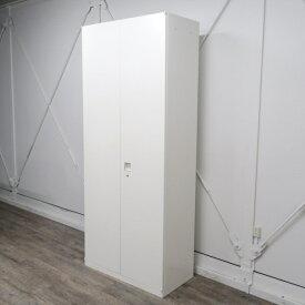 オカムラ レクトライン 両開き書庫 ホワイト 4B318Y-ZA75