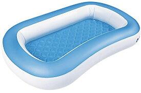 送料無料 JILONG(ジーロン)  ジャイアントベビープール 163×104×25 ビニールプール 子供用プール 水遊び 猛暑対策 スイミング 空気入れ必要 家庭用プール