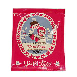 カレルチャペック(Karel Capek) ガールズティー 紅茶ティーバッグ 5P セレクト雑貨のお店 プレゼント 贈り物 ギフト 敬老の日 内祝い 退職 プチギフト 誕生日 記念日 サプライズ 紅茶 ティーパッ