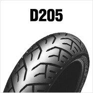 DUNLOP D205F 110/80R18 M/C 58V TLダンロップ・D205・フロント用※チューブレスタイプ※HONDA CB1100('10〜)用商品番号286961