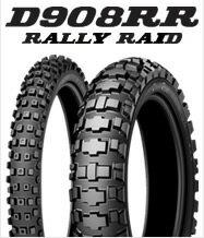DUNLOP D908RR 140/80-18 M/C 70R WTダンロップ・D908RR(RALLY RAID)・リア用商品コード293393競技用