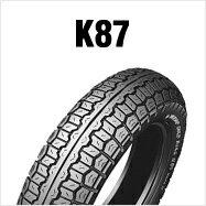 DUNLOP K87MK-2 4.00H18 4PR(64H) WTダンロップ・K87・リア用商品番号111577タイヤサイズ4.00-18 Hレンジ