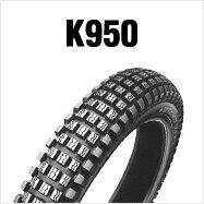 DUNLOP K950 3.50-18 4PR WTダンロップ・K950・リア用商品番号104671