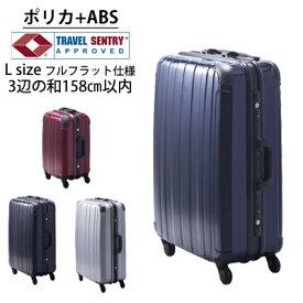 3年保証 スーツケース TSAロックプロテクトPG2ハードキャリーケース・Lサイズ10日間程度のご旅行にスーツケースベルトおまけ付き【外寸:3辺の和157cm】送料無料【あす楽_土曜営業】【gwtravel_d19】