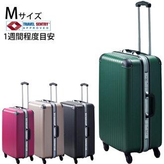 在有旅行箱皮帶贈品的New專家TG2硬體飛翔距離情况、M尺寸1個星期左右的旅遊。 旅行箱TSA鎖頭聚乙烯碳酸鹽