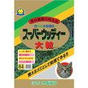 常陸化工 スーパーウッディー 大粒 猫用 6L×6入【送料無料】